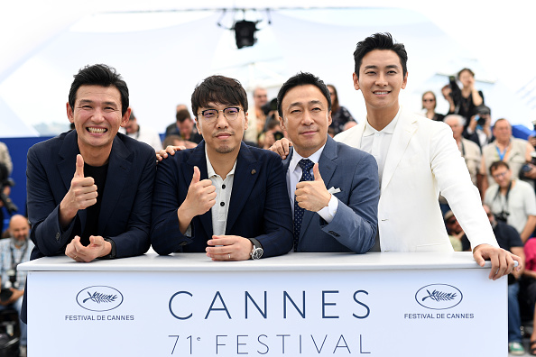 """Lee Min「""""The Spy Gone North (Gongjak)"""" Photocall - The 71st Annual Cannes Film Festival」:写真・画像(13)[壁紙.com]"""