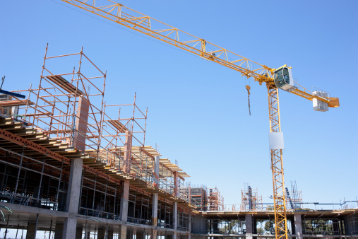 South Africa「Crane on construction site」:スマホ壁紙(12)