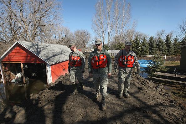 Minnesota「North Dakota And Minnesota Battle Red River Floods」:写真・画像(11)[壁紙.com]