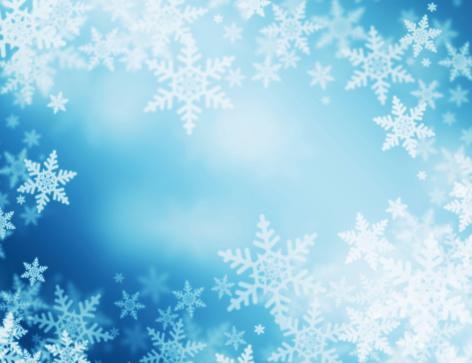 雪の結晶「冬の背景」:スマホ壁紙(11)