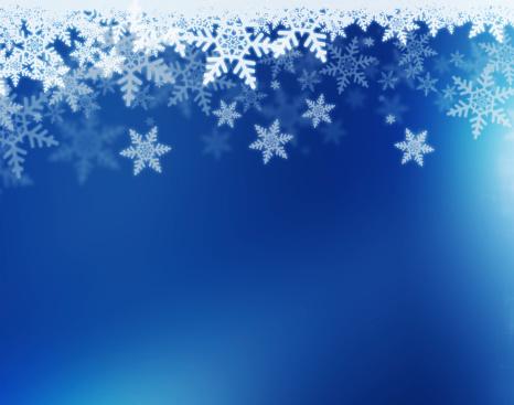 雪の結晶「冬の背景」:スマホ壁紙(7)