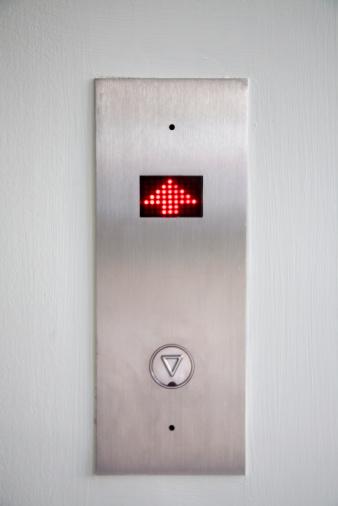 Push Button「Elevator going up wall digital sign」:スマホ壁紙(17)