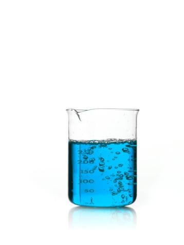 Science「Blue liquid in measuring cup」:スマホ壁紙(16)