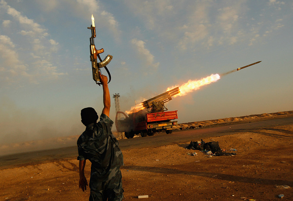 Conflict「Eastern Libya Continues Fight Against Gaddafi Forces」:写真・画像(1)[壁紙.com]