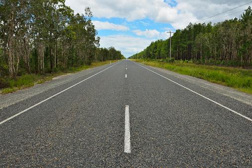 Empty Road「Road, Cooloola Coast Road」:スマホ壁紙(4)