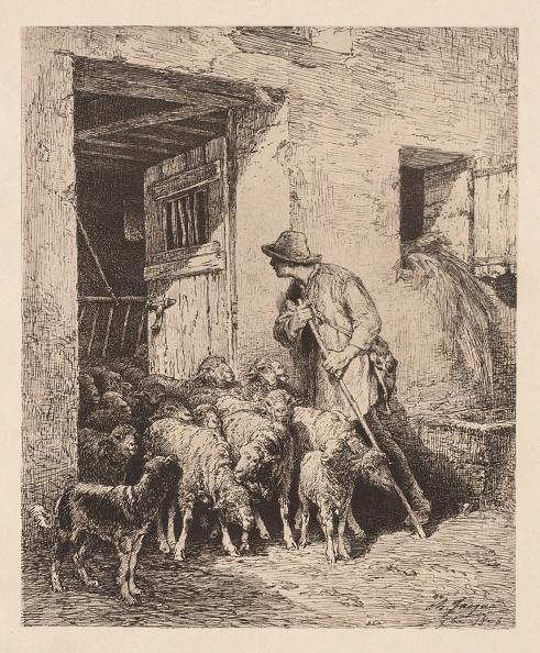 1870-1879「The Herd Exits (La Sortie Du Troupeau)」:写真・画像(13)[壁紙.com]