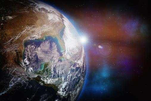 天の川「アースに星」:スマホ壁紙(13)