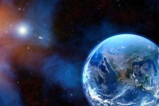 天の川「アースに星」:スマホ壁紙(12)