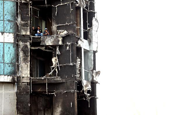 Skyscraper「Fire At The Torch Tower In Dubai」:写真・画像(0)[壁紙.com]