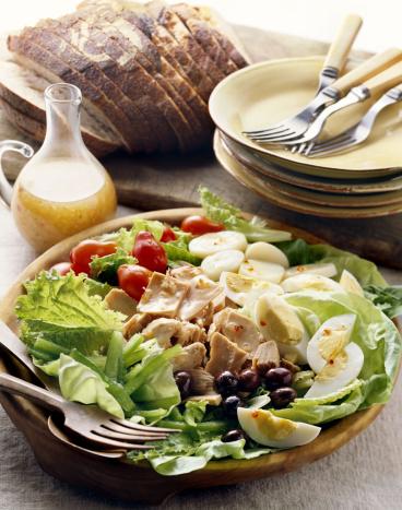 Vinaigrette Dressing「Bowl of salad nicoise」:スマホ壁紙(3)