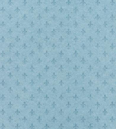 花柄「青色のテクスチャード加工紙とシンボル」:スマホ壁紙(13)
