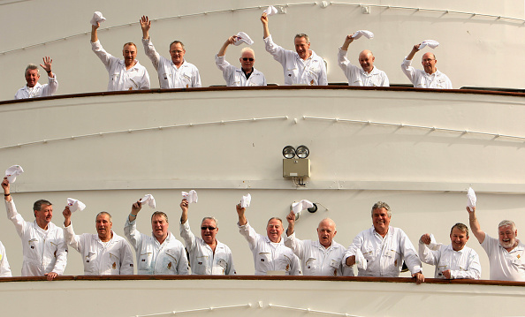 Eccentric「Deckhands Meet For A Reunion Onboard The Royal Yacht Brittania」:写真・画像(19)[壁紙.com]