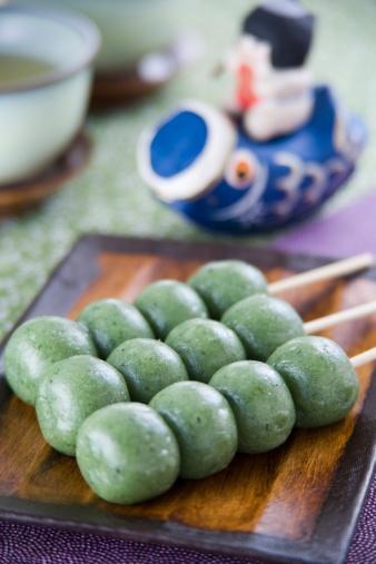 こどもの日「Japanese sweets」:スマホ壁紙(8)