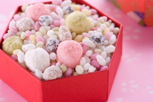 ひな祭り「Japanese sweets」:スマホ壁紙(15)