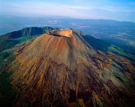 Active Volcano「Mount Vesuvius」:スマホ壁紙(7)