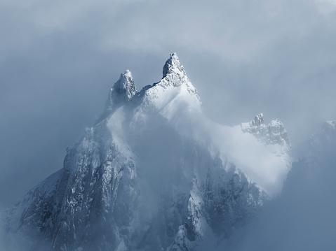 静かな情景「French Alps」:スマホ壁紙(19)
