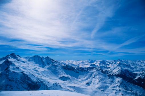 雲「French Alps」:スマホ壁紙(13)