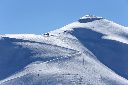 Ski Resort「French Alps.  Mont-Blanc massif.  France.」:スマホ壁紙(10)