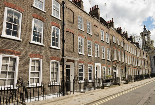 Old-fashioned「Homes in Westminster, London」:スマホ壁紙(15)