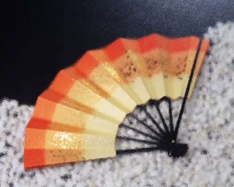 Folding Fan「A Japanese fan, Blurred Motion, Close Up」:スマホ壁紙(11)