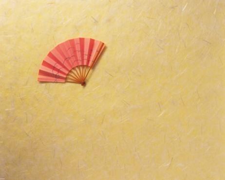 Folding Fan「A Japanese fan, Close Up, Copy Space」:スマホ壁紙(7)