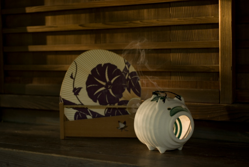 Insecticide「Japanese fan and mosquito coil」:スマホ壁紙(0)