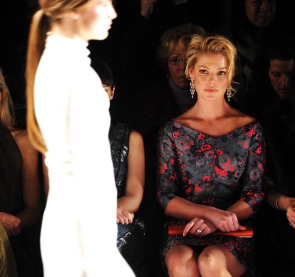 Katherine Heigl「J. Mendel - Front Row - Fall 2013 Mercedes-Benz Fashion Week」:写真・画像(4)[壁紙.com]