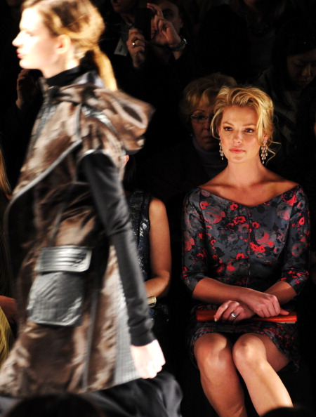 Katherine Heigl「J. Mendel - Front Row - Fall 2013 Mercedes-Benz Fashion Week」:写真・画像(15)[壁紙.com]