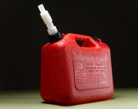 Pour Spout「Red plastic gas can, close-up」:スマホ壁紙(13)