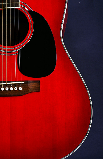 String Instrument「Red guitar vertical」:スマホ壁紙(5)