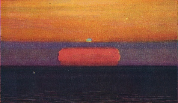 Horizon「The Green Flash At Sunset」:写真・画像(11)[壁紙.com]