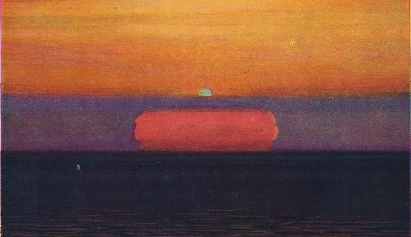 Horizon「The Green Flash At Sunset」:写真・画像(1)[壁紙.com]