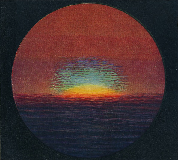 Horizon「The Green Flash At Sunset」:写真・画像(4)[壁紙.com]