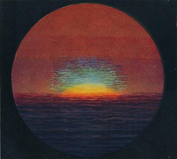 Horizon「The Green Flash At Sunset」:写真・画像(13)[壁紙.com]