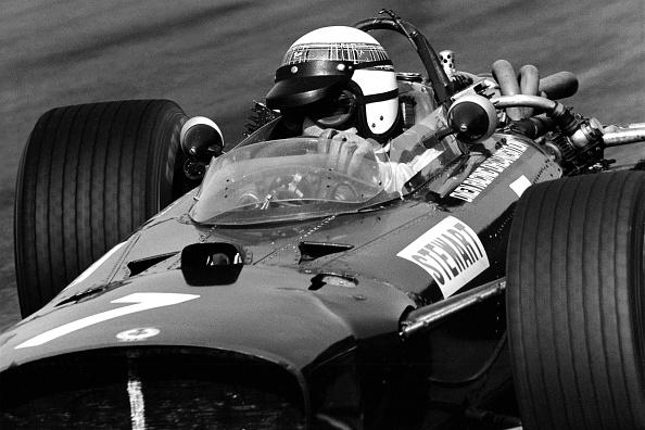 Auto Racing「Jackie Stewart At Grand Prix Of Mexico」:写真・画像(6)[壁紙.com]