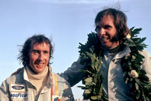 Jackie Stewart - Race Car Driver「Stewart & Fittipaldi At Grand Prix Of Argentina」:写真・画像(19)[壁紙.com]
