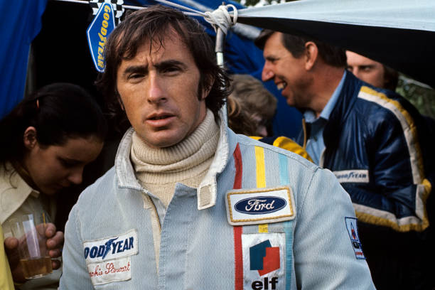 Jackie Stewart - Race Car Driver「Stewart & Tyrrell At Grand Prix Of France」:写真・画像(1)[壁紙.com]