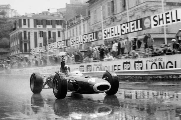 モータースポーツ「Jackie Stewart At Grand Prix Of Monaco」:写真・画像(1)[壁紙.com]