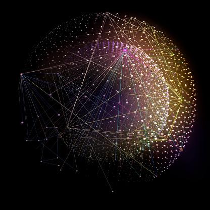 Sensory Perception「Connections」:スマホ壁紙(1)