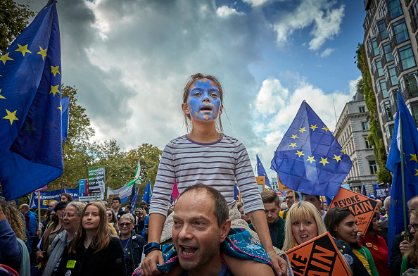 Bestpix「People's Vote Campaign Rallies For Final Say On Brexit」:写真・画像(4)[壁紙.com]