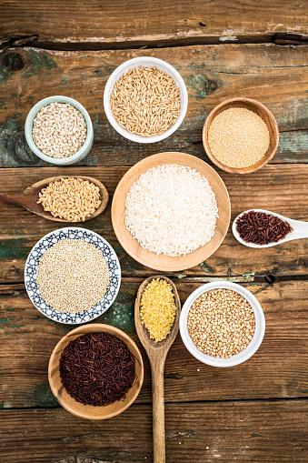 Bulgur Wheat「Cereal mix: red rice, barley, amaranth, quinoa, rice, bulgur, spelled, oats and buckwheat」:スマホ壁紙(2)