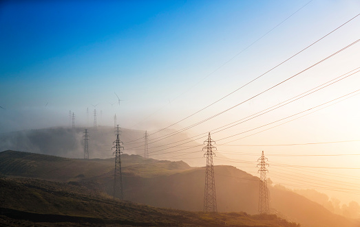 Electricity Pylon「Electricity pylon」:スマホ壁紙(15)