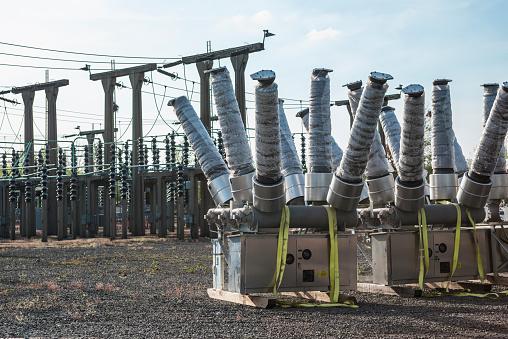 Electricity Pylon「Electricity generating substation」:スマホ壁紙(13)
