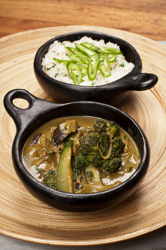 Green Curry「thai green curry with coconut rice」:スマホ壁紙(10)