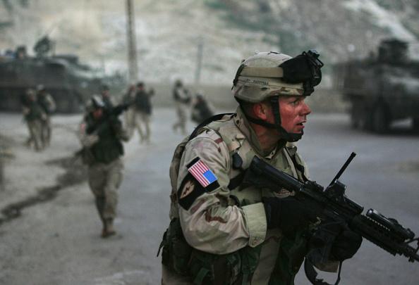 Iraq「U.S. Troops And Iraqi Police Fight Gunbattle In Tal Afar」:写真・画像(13)[壁紙.com]