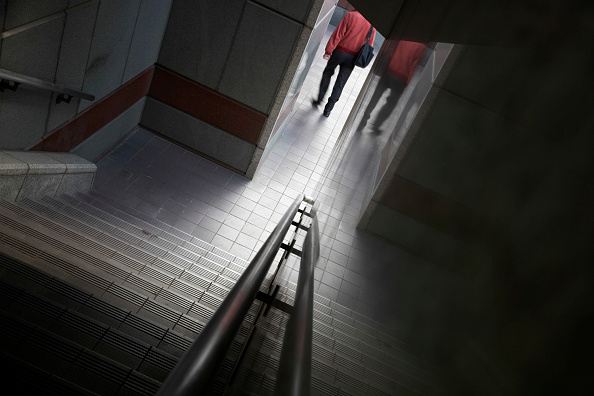Staircase「Exterior Stairway and pedestrian, London, UK」:写真・画像(5)[壁紙.com]