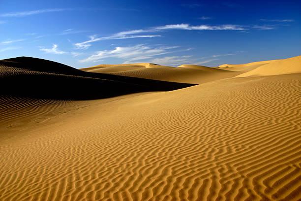 Rippled sand dunes at sunset:スマホ壁紙(壁紙.com)