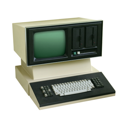 Data「Old School Computer」:スマホ壁紙(16)