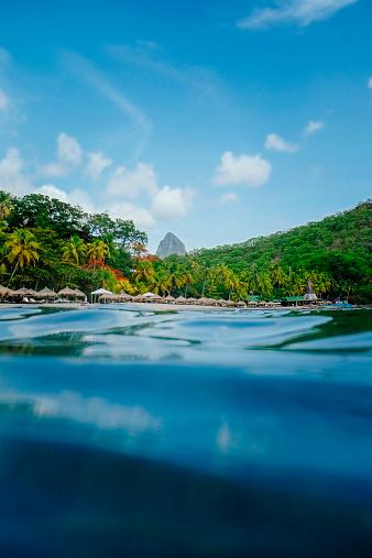 Focus On Background「Saint Lucia Travel」:スマホ壁紙(19)