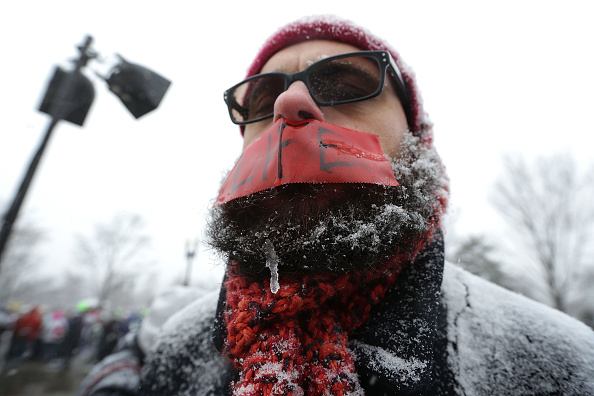 2016 Winter Storm Jonas「Annual Anti-Abortion March For Life Rally Takes Place In D.C.」:写真・画像(1)[壁紙.com]